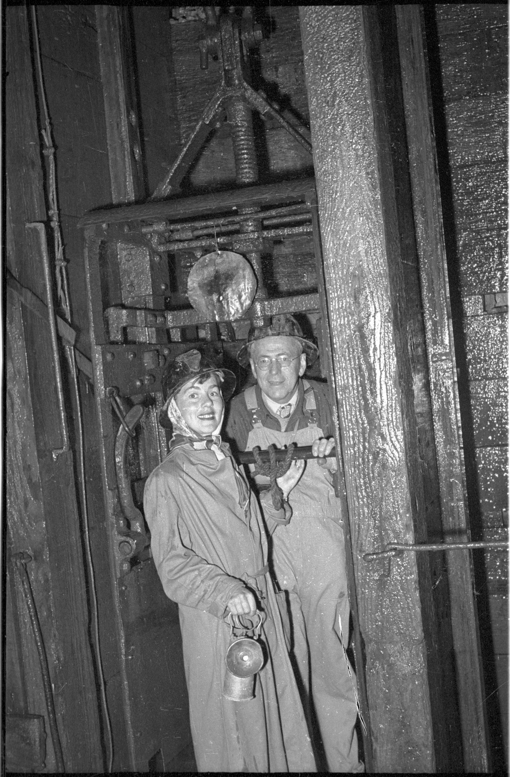 Australian Fieldwork- Alfred M. Bailey and Patricia Bailey Witherspoon in the Central Deborah Gold Mine