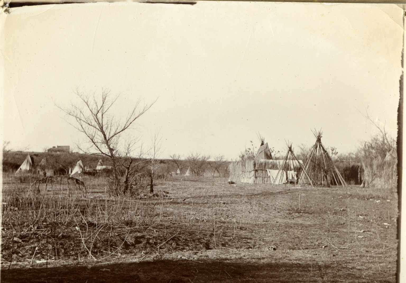 Cheyenne camp