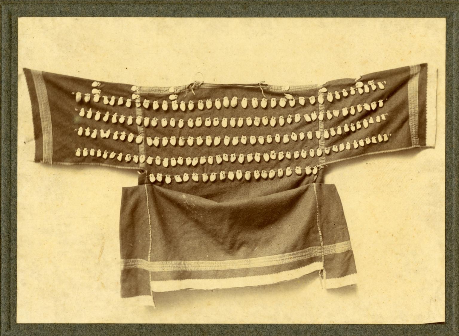 Cheyenne elk tooth dress