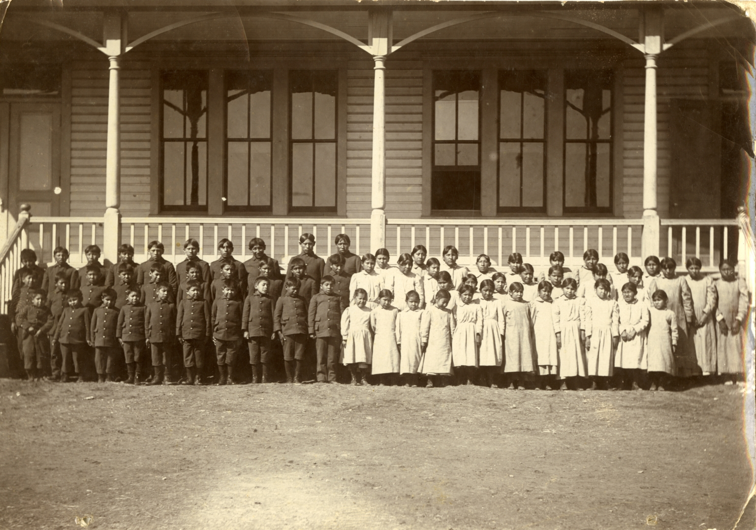 Cantonment Oklahoma Indian Boarding School
