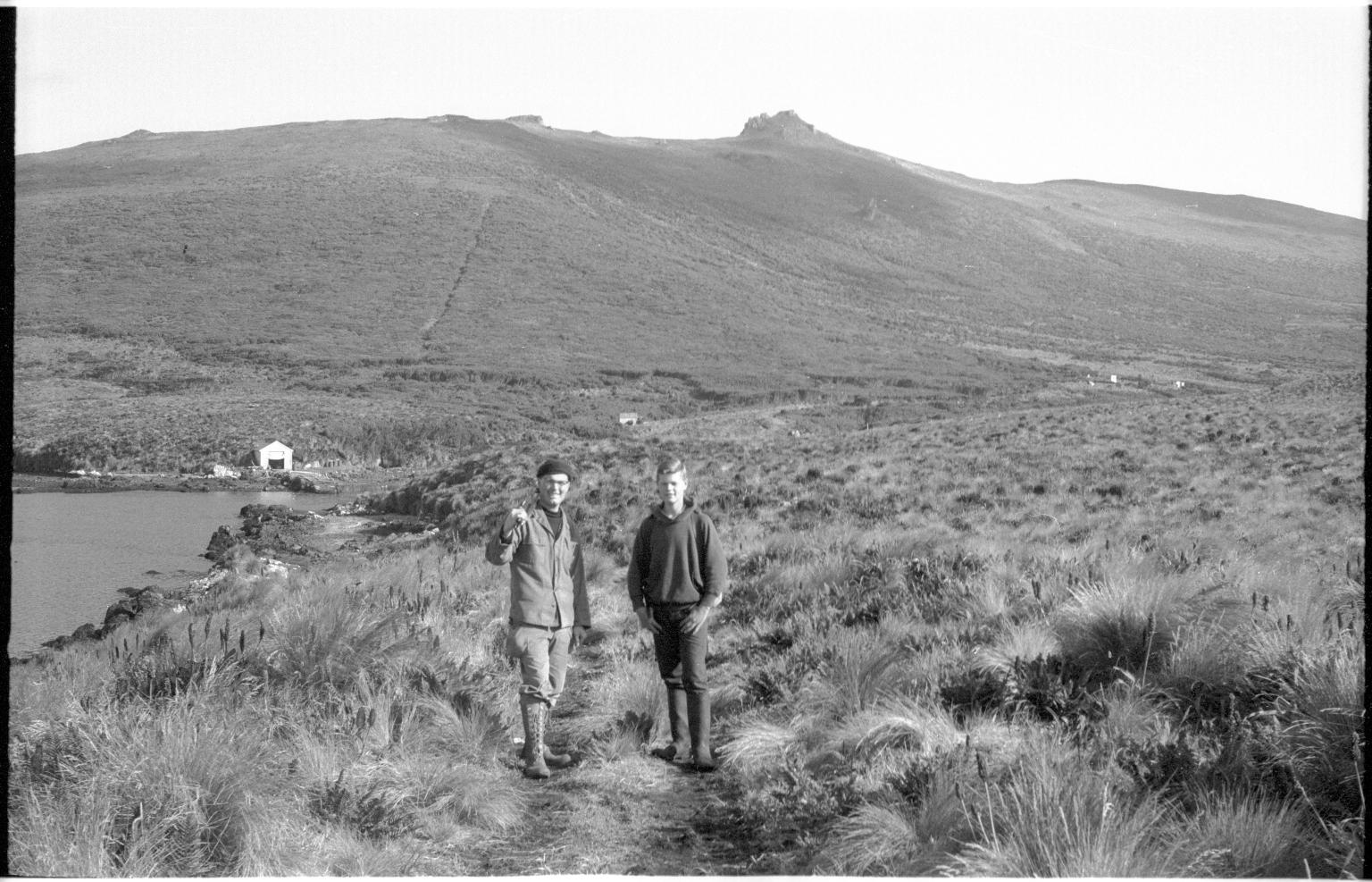 Fieldwork on Campbell Island