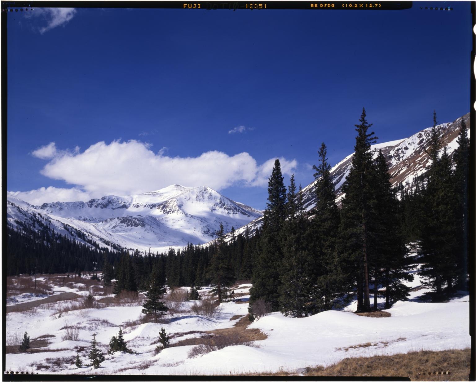 Mount Democrat and Kite Lake