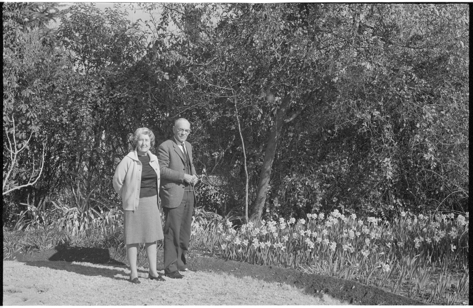 Dr. Hoffman and his wife in Cape Town, South Africa