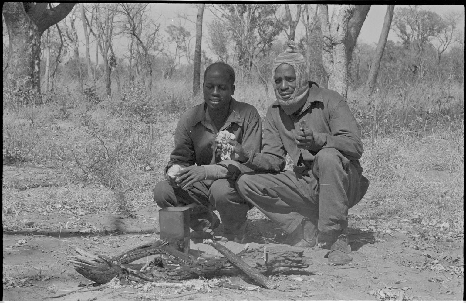 Camp site in Zimbabwe