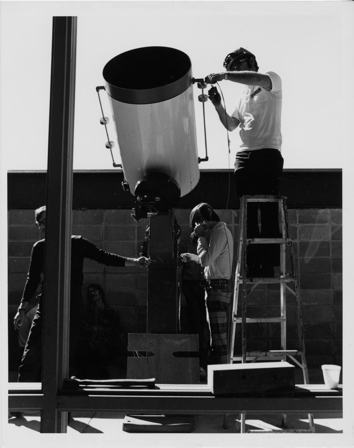 Gates Planetarium telescope move