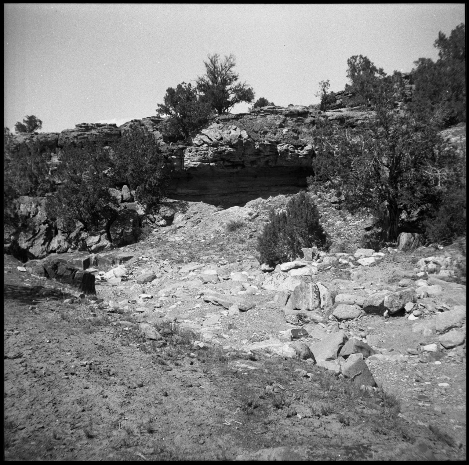 Fieldwork from Casebier site, Montrose County, Colorado