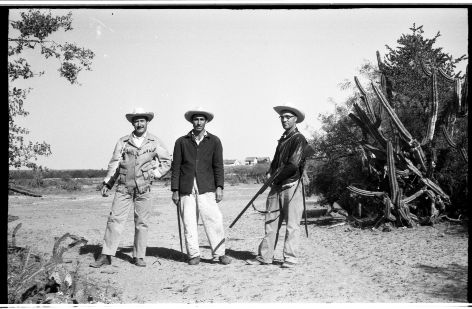 Field team in Tamaulipas, Mexico