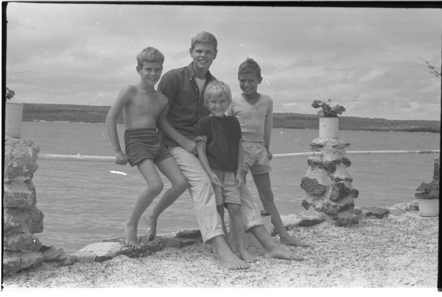 Jack Murphy with children