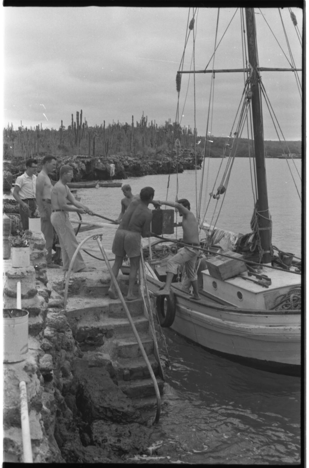 Fieldwork in Galapagos Islands.