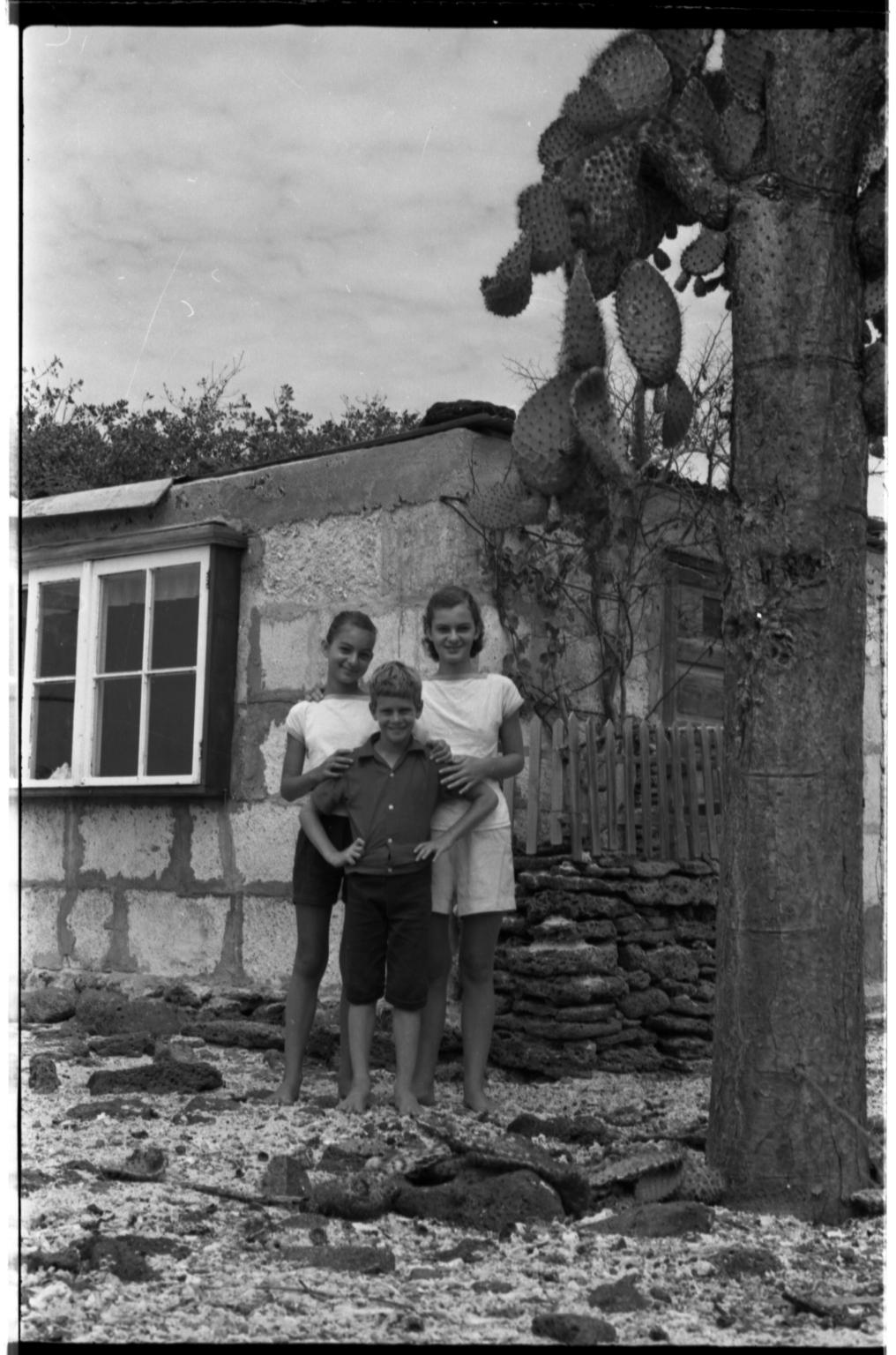 Children in Galapagos Islands.