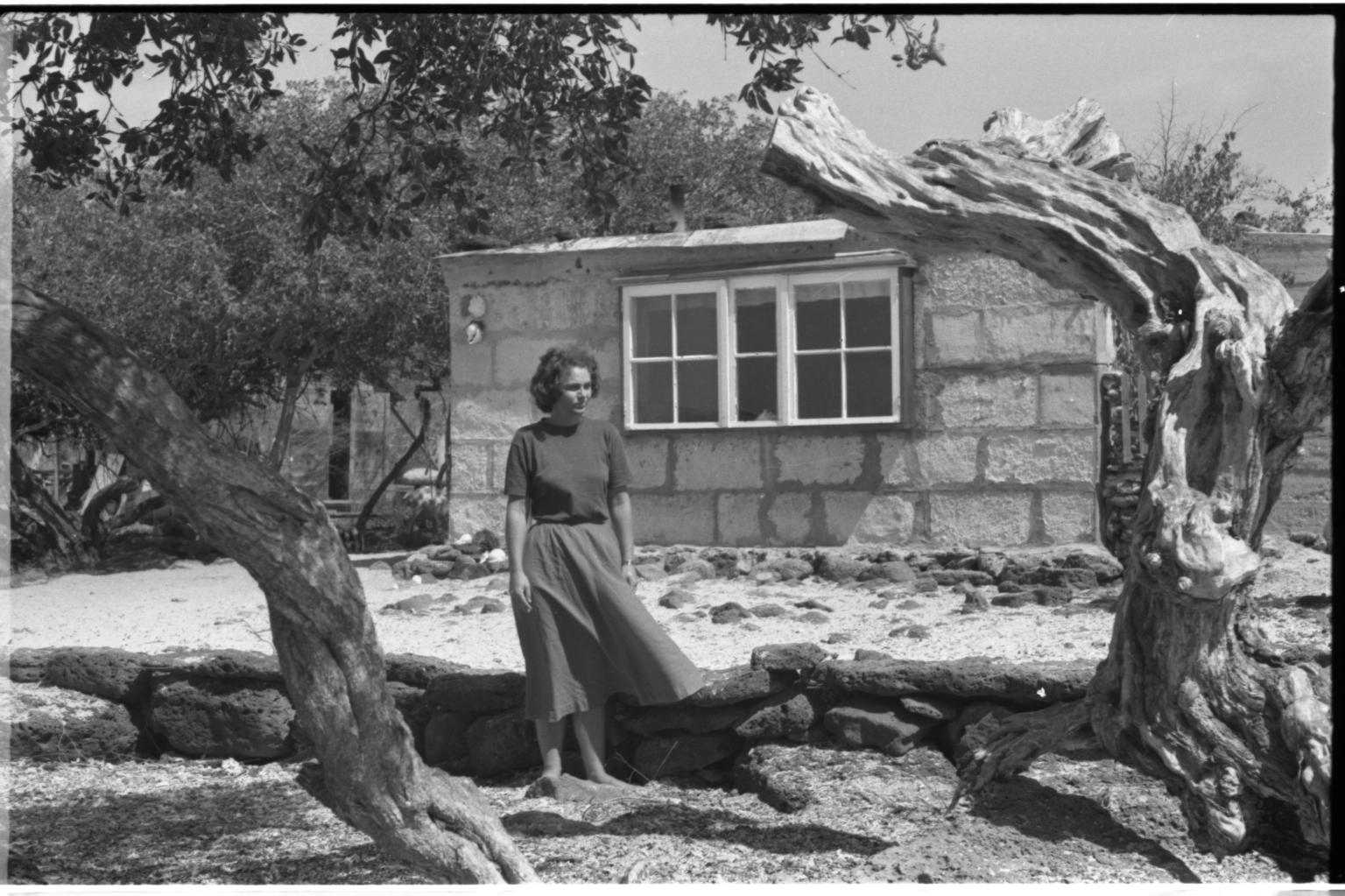 Woman in Galapagos Islands.