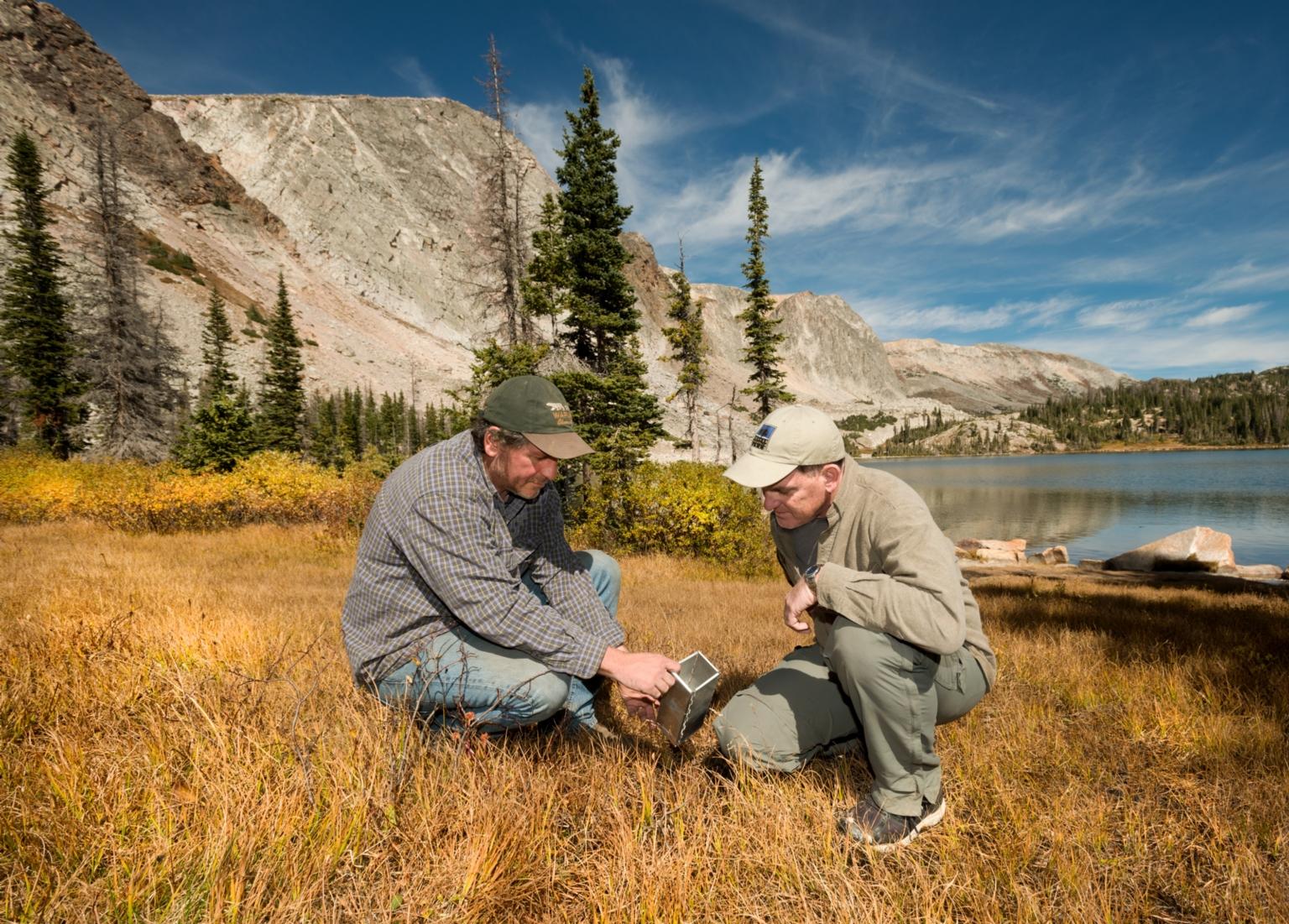 Zoology fieldwork with Drs. John Demboski and Scott Sampson
