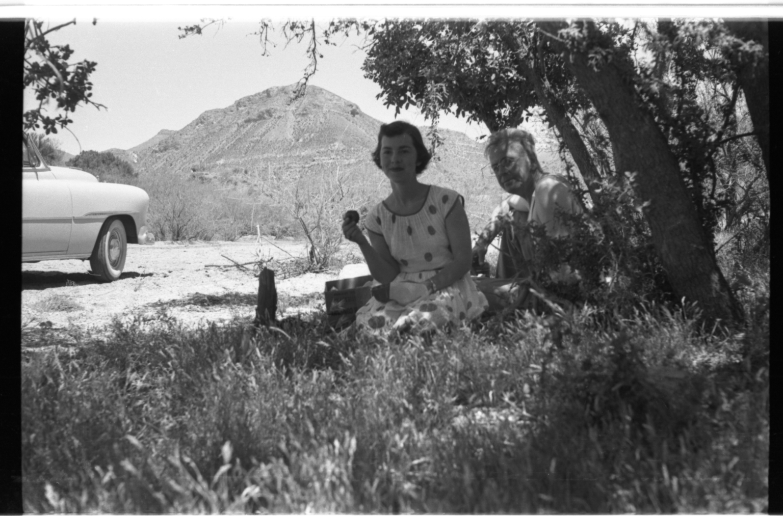 Patricia Bailey Witherspoon and Alfred M. Bailey Picnic