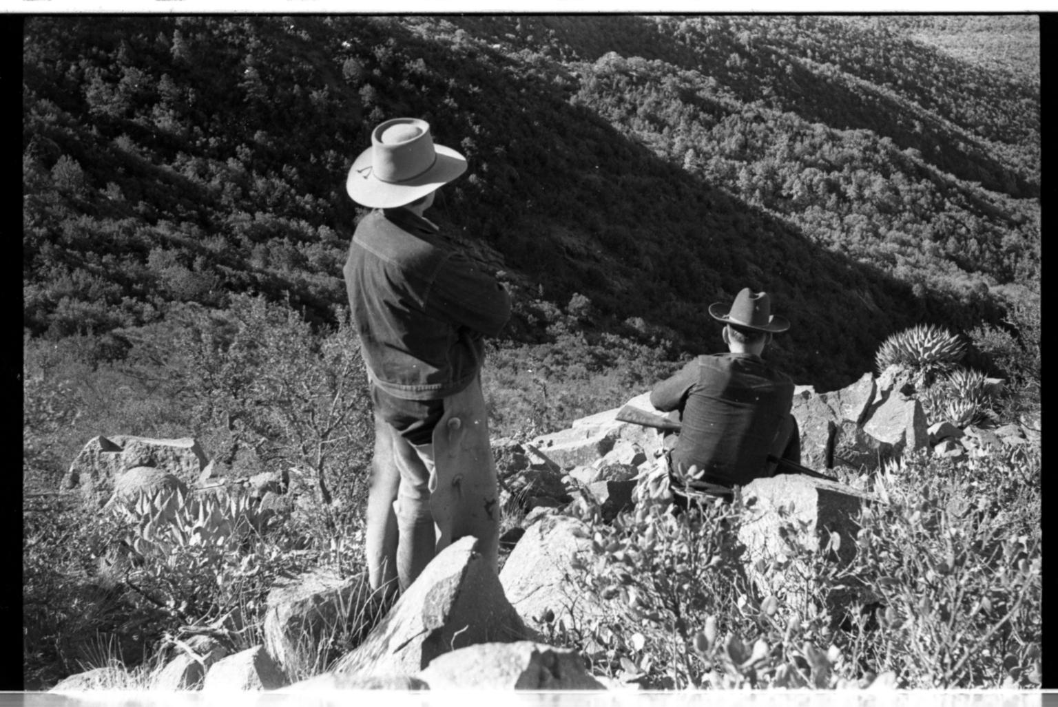 Men on Mountain Lion Hunt