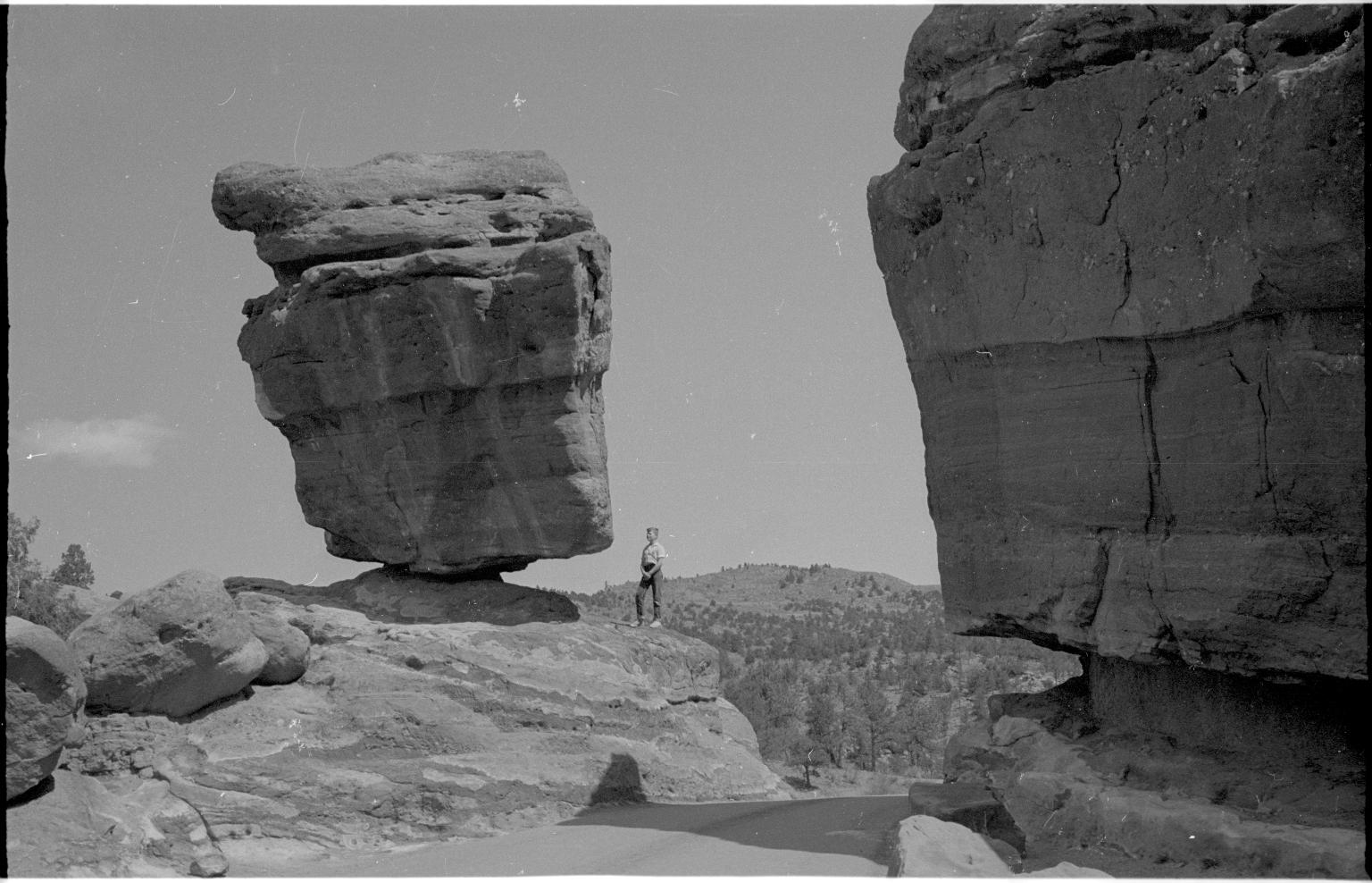 Jack Murphy and Balanced Rock