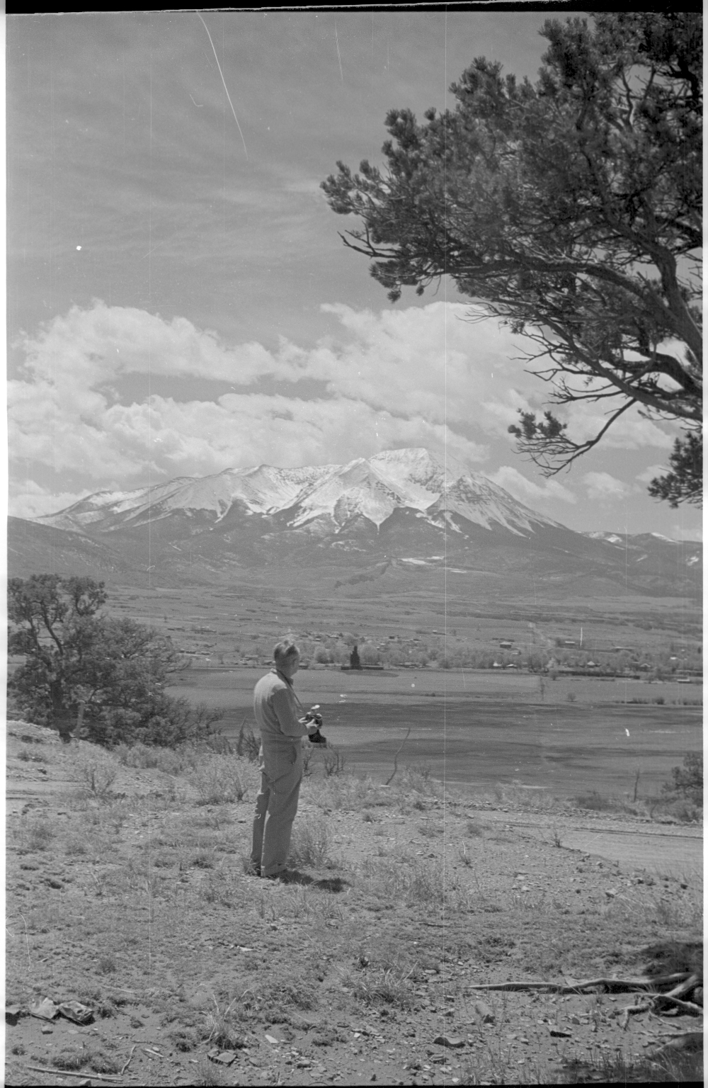 Alfred M. Bailey and La Veta Scenery