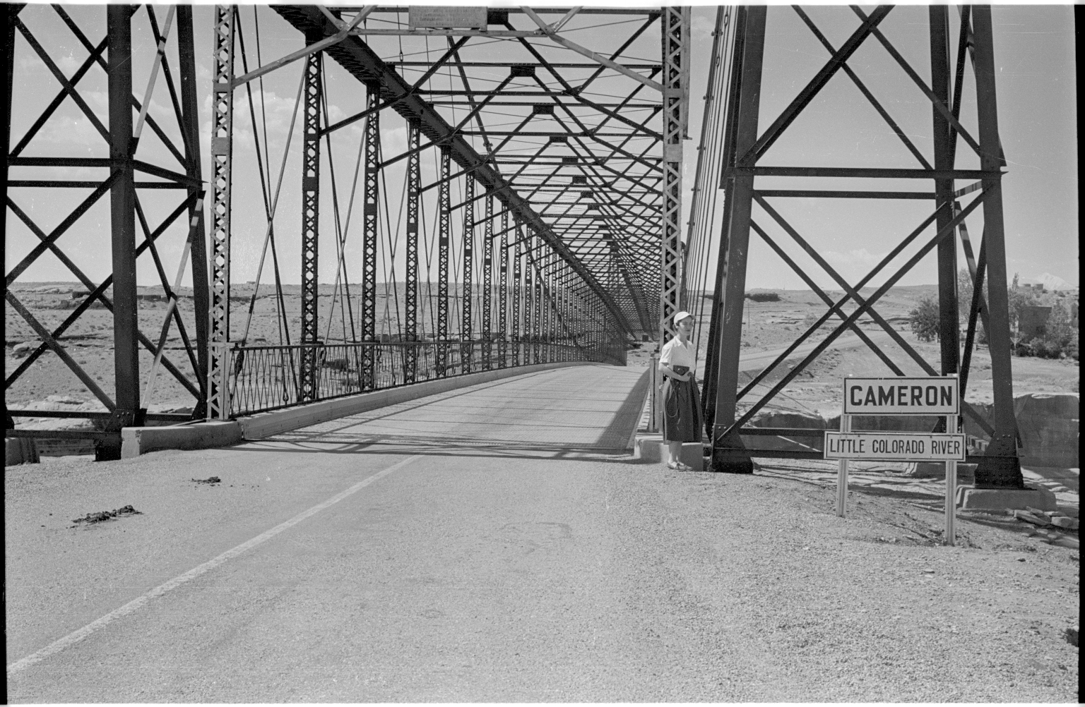 Cameron Suspension Bridge