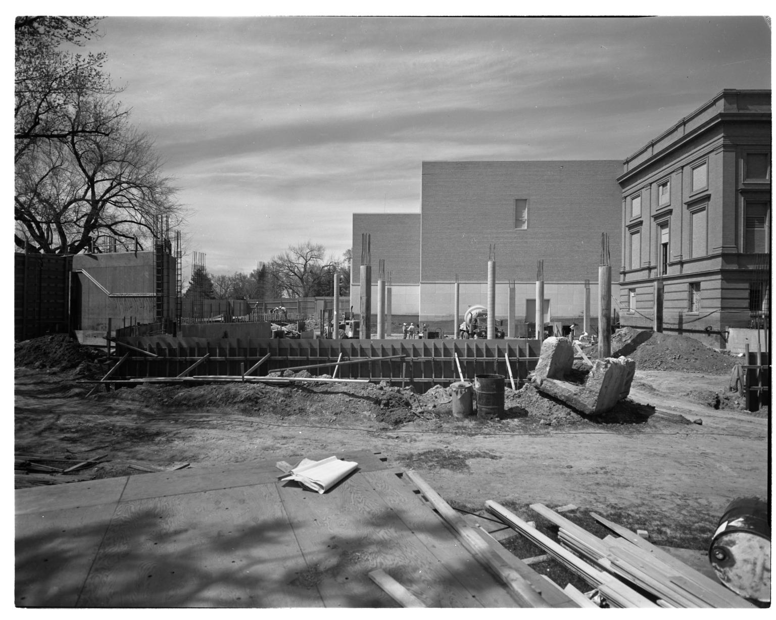 Southwest Wing Construction