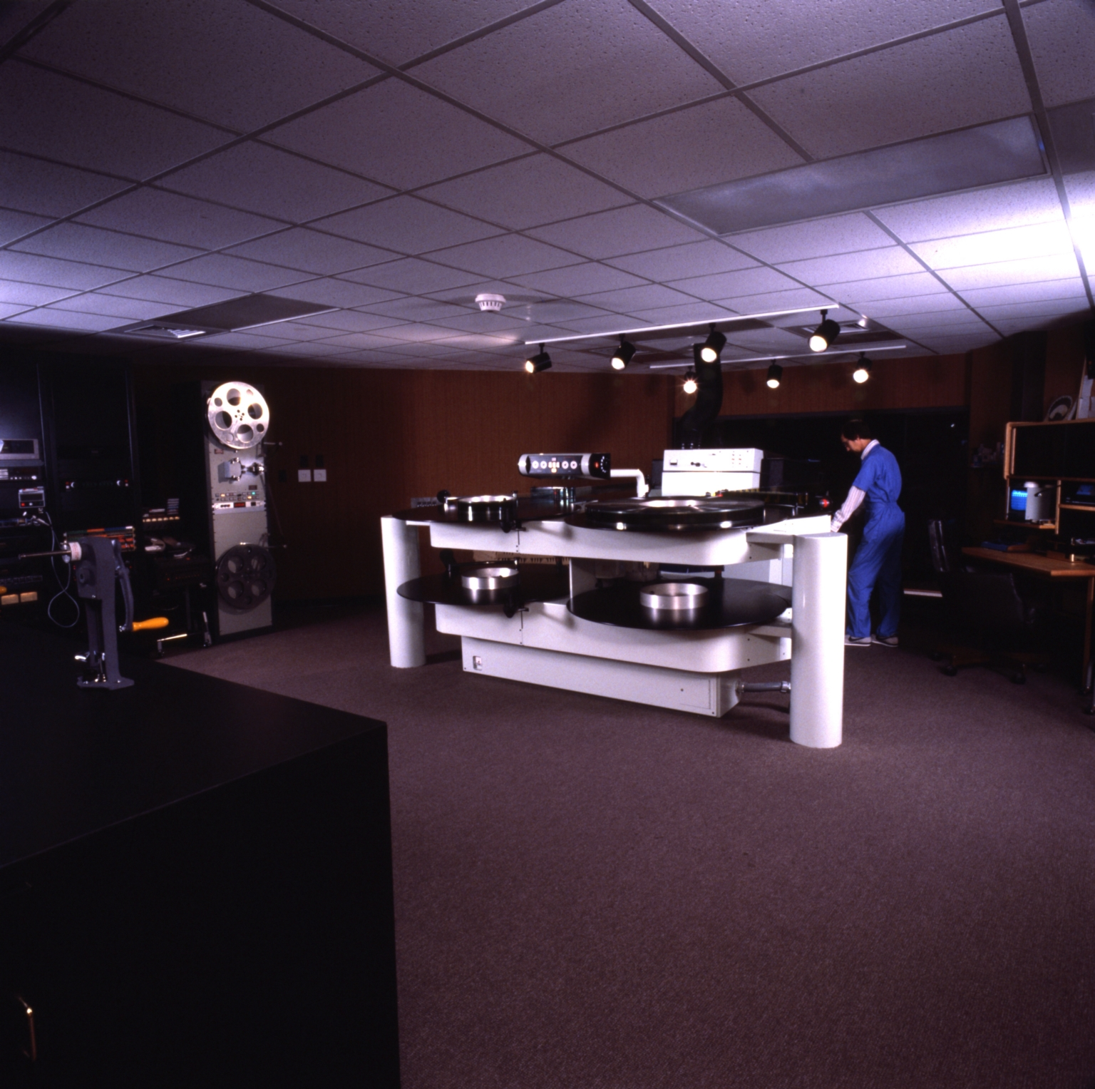 IMAX Projection Booth