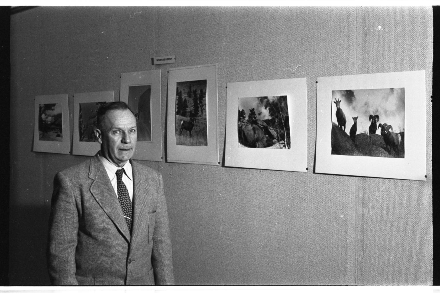 Albert Rogers at Exhibit