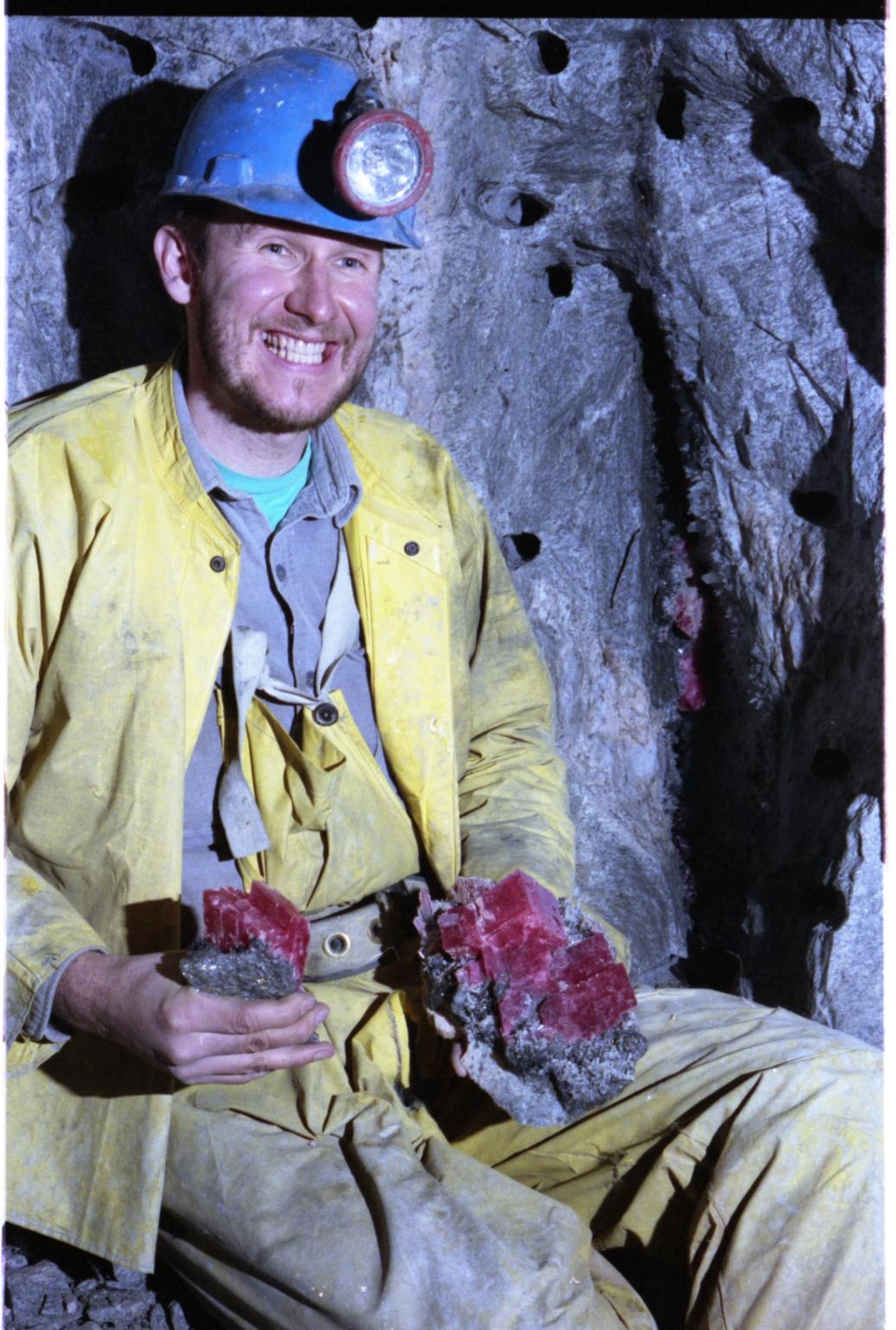 Miner Bryan Lees