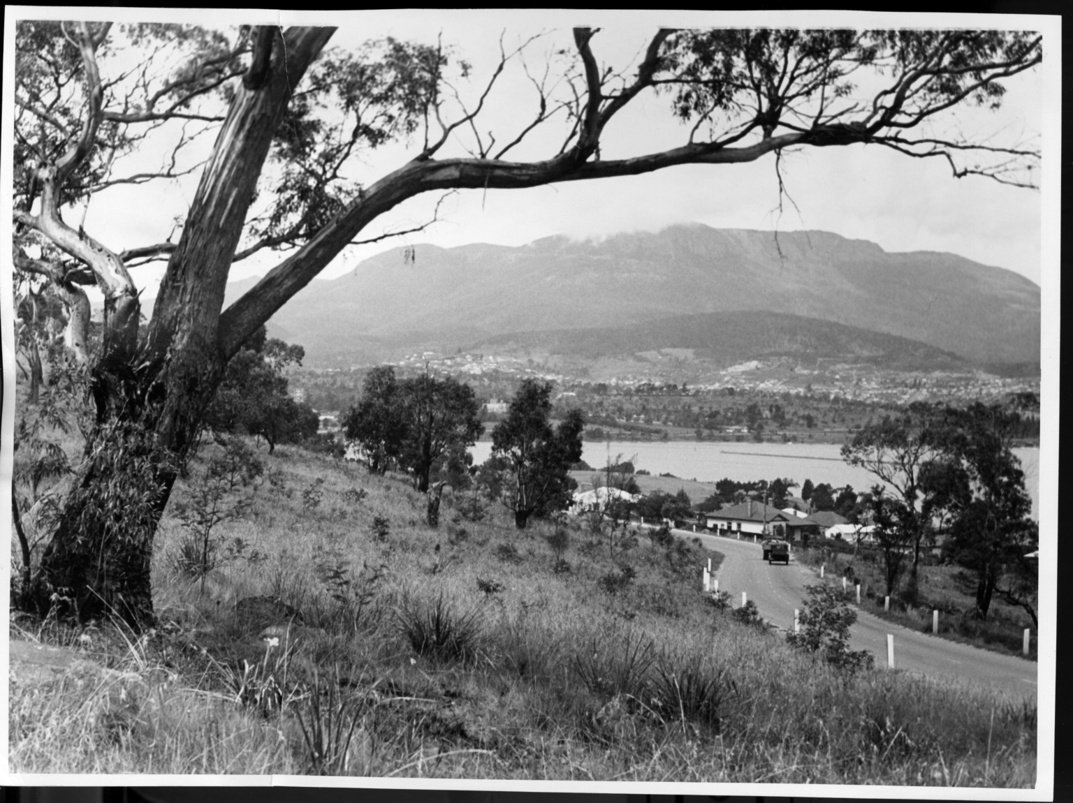 Scenic view near Hobart