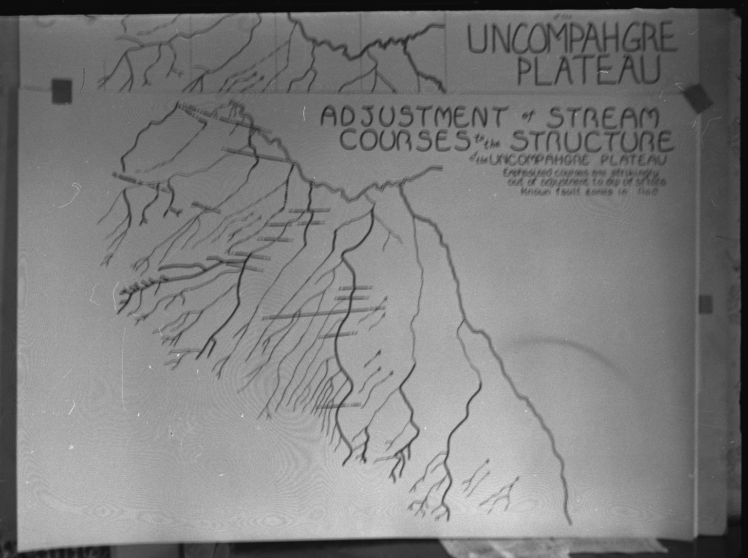 Uncompahgre Plateau water map