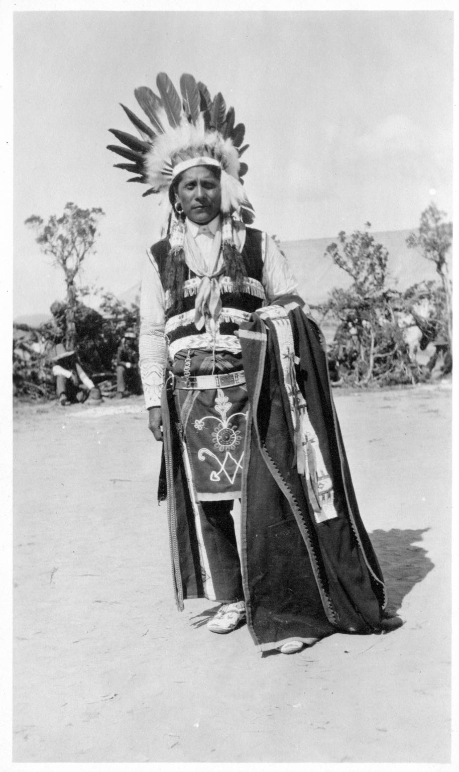 Portrait of a Ute Mountain Ute man