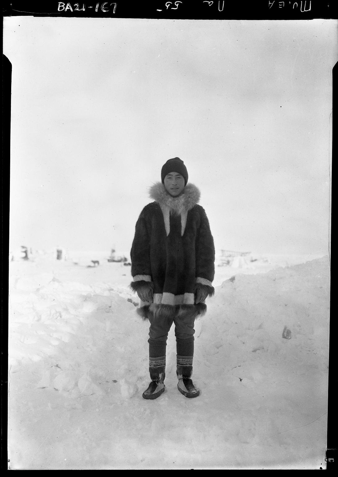 David Brower man in Alaska