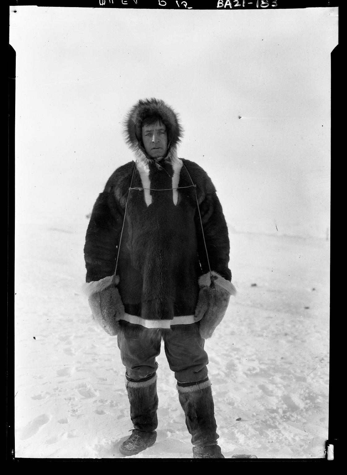 Jim Allen in Wainwright, Alaska