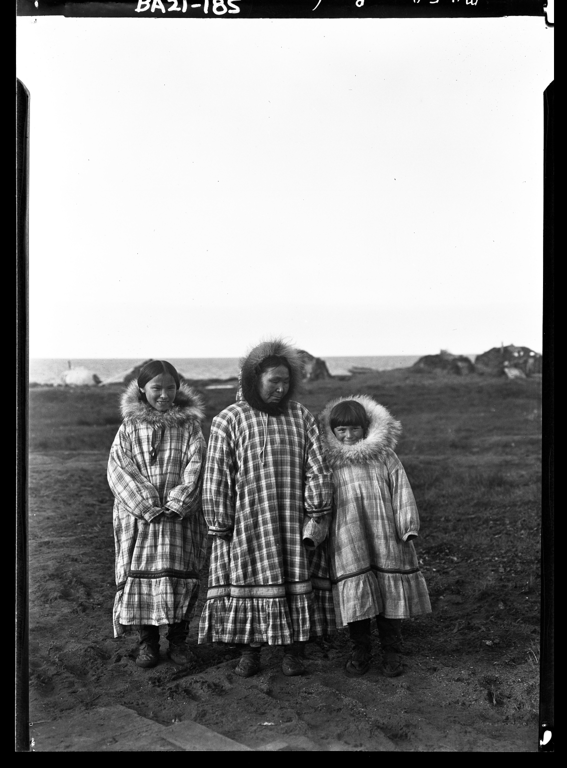 Jim Allen's family in Wainwright, Alaska
