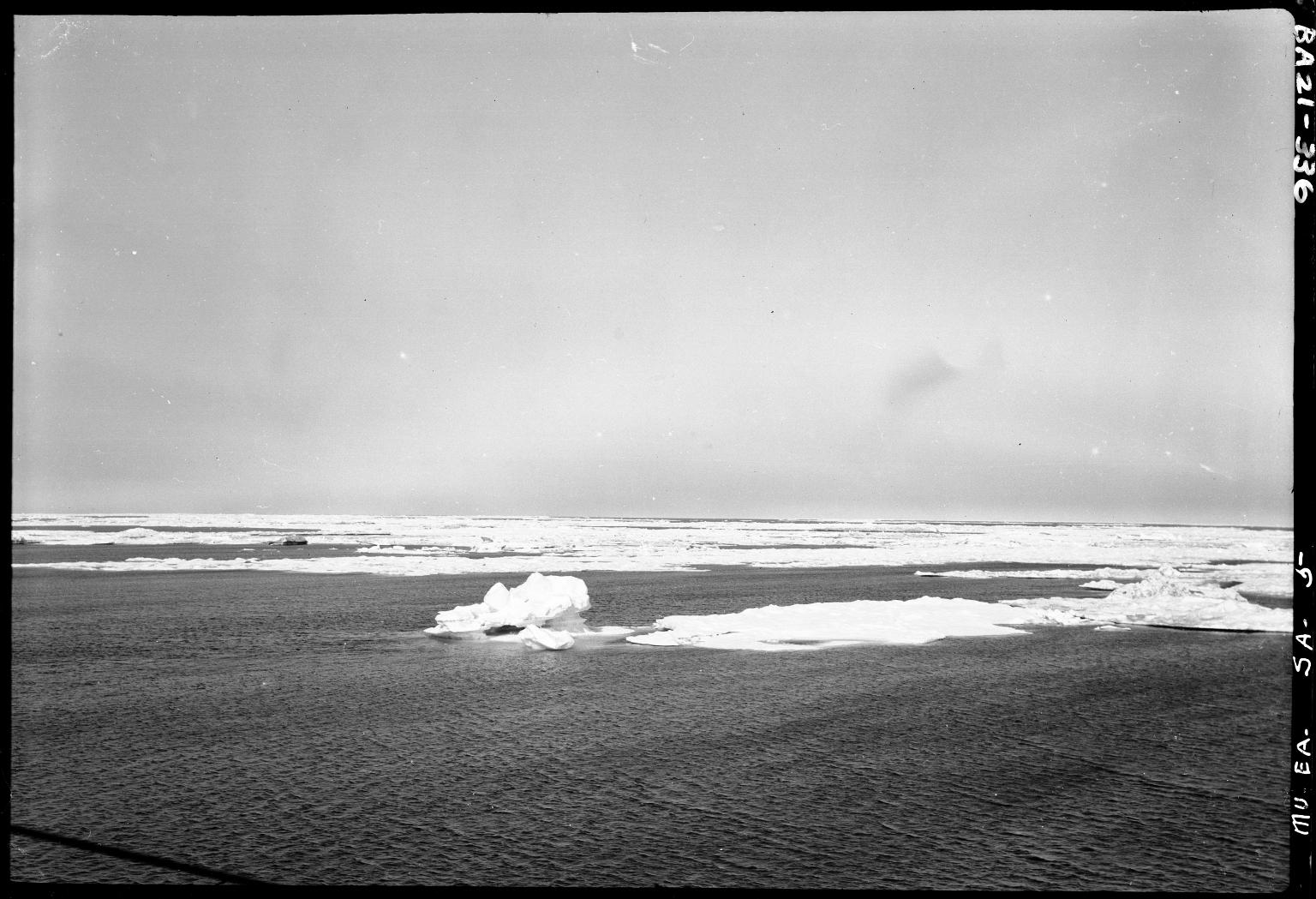 Arctic drift east of Barrow