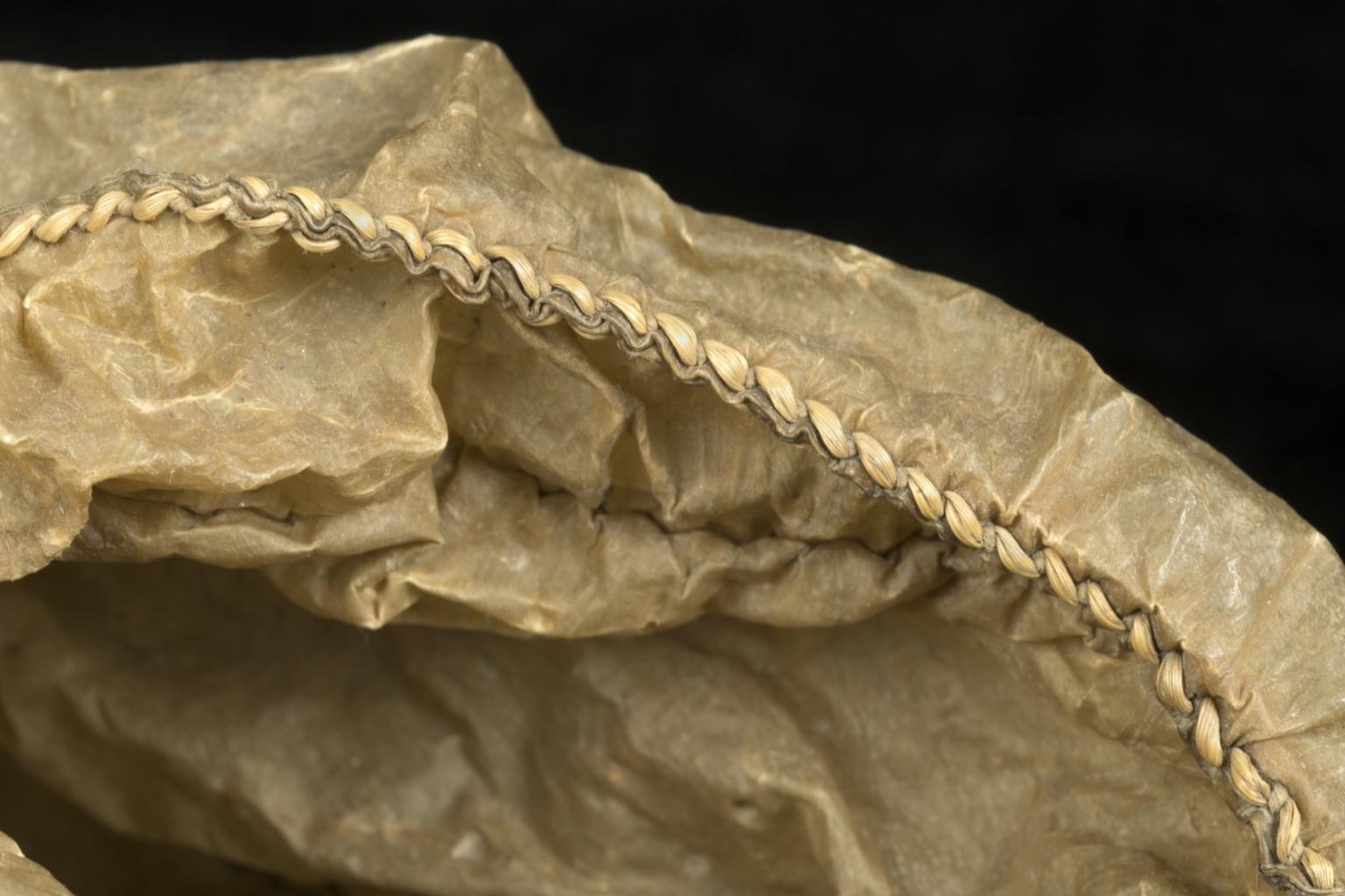 Detail of seal gut parka