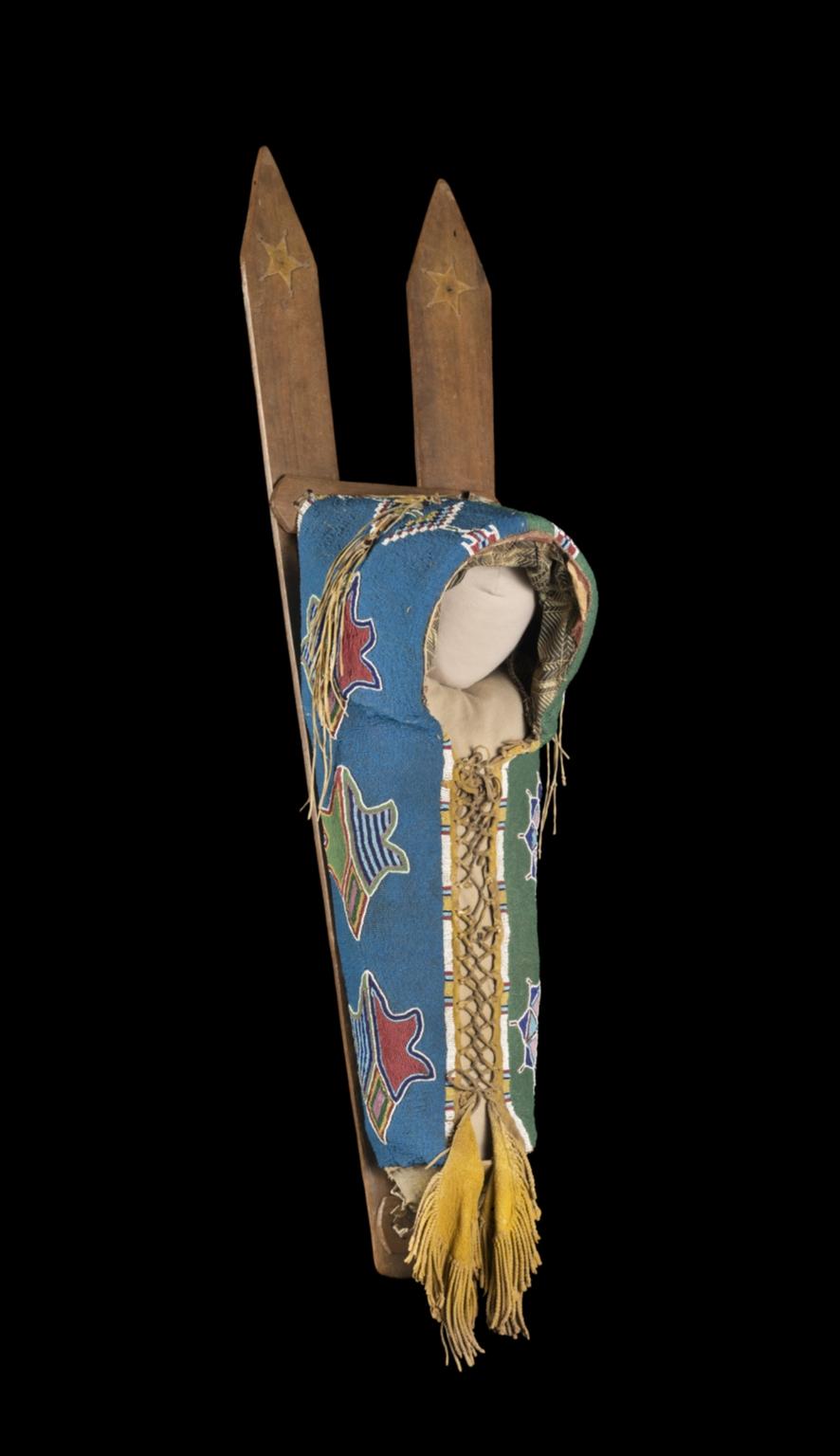 Kiowa Cradleboard, Side B