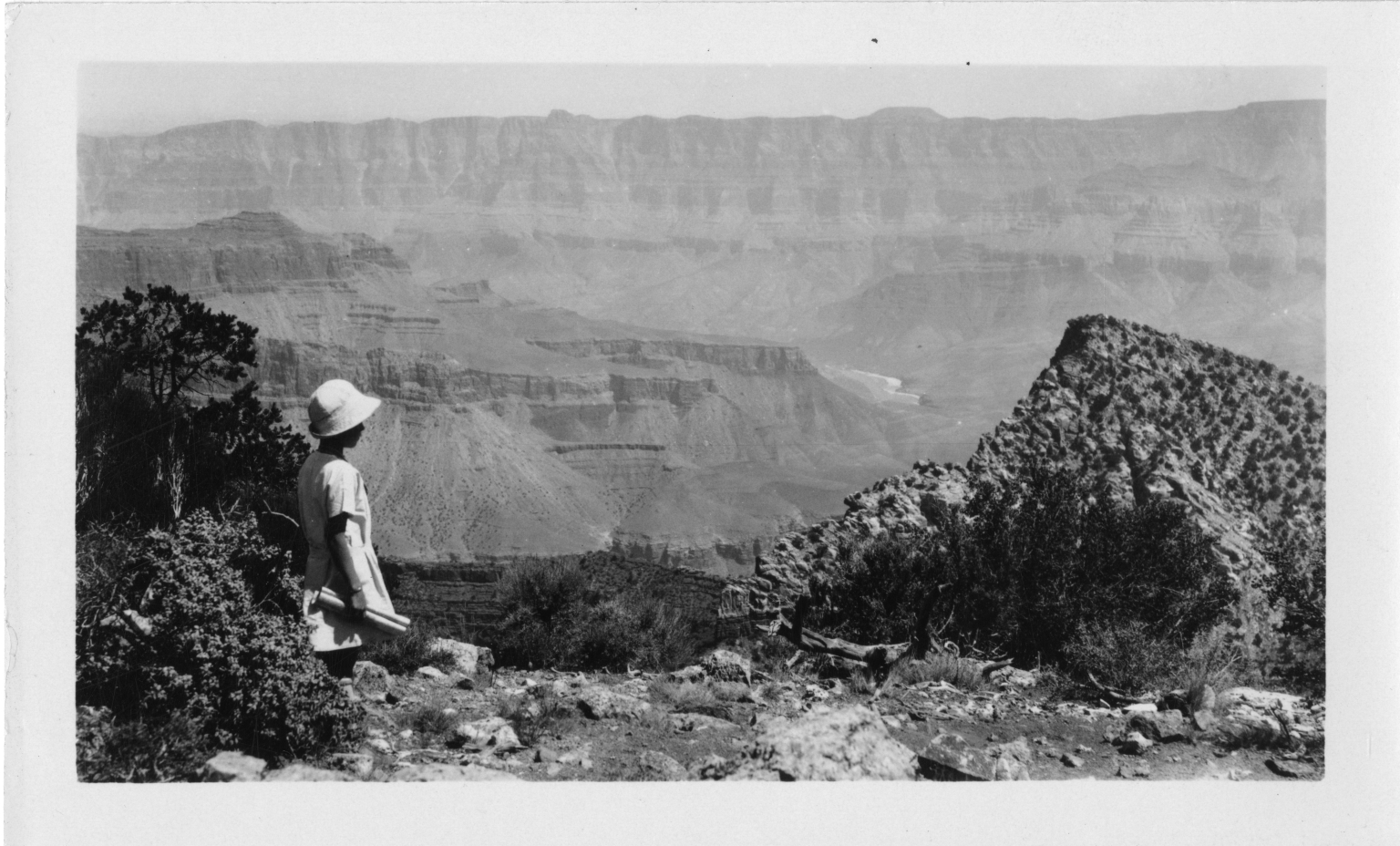 Alice overlooking the Grand Canyon