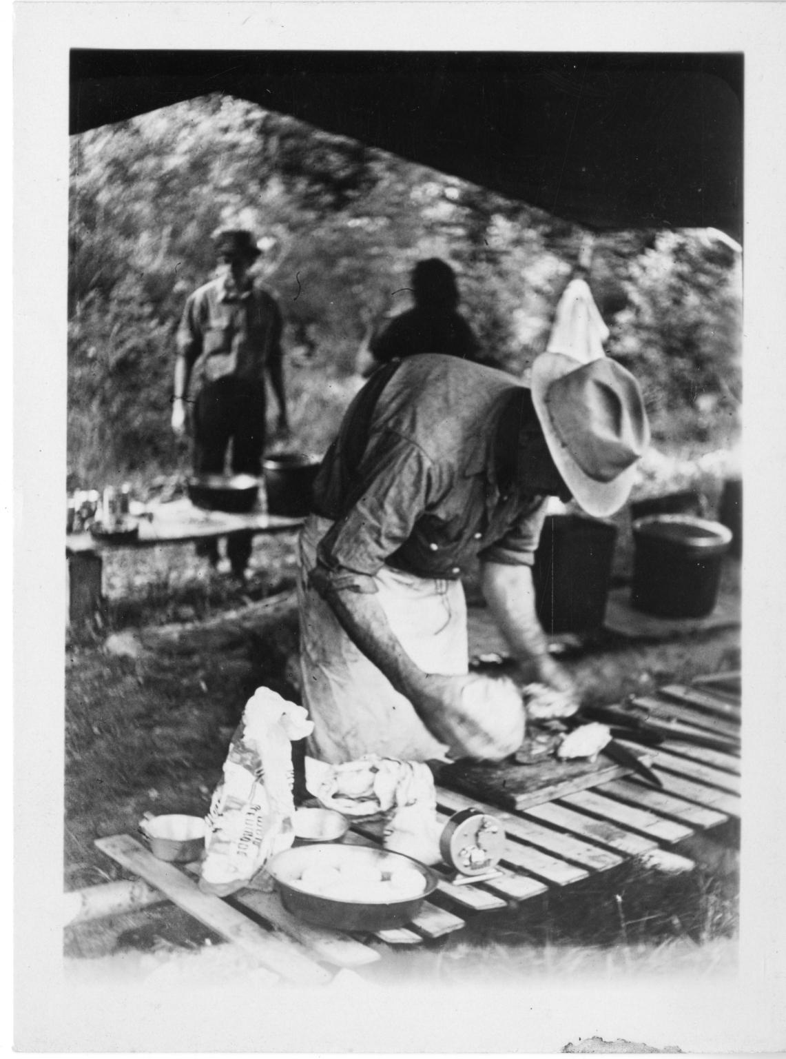 Camp cook