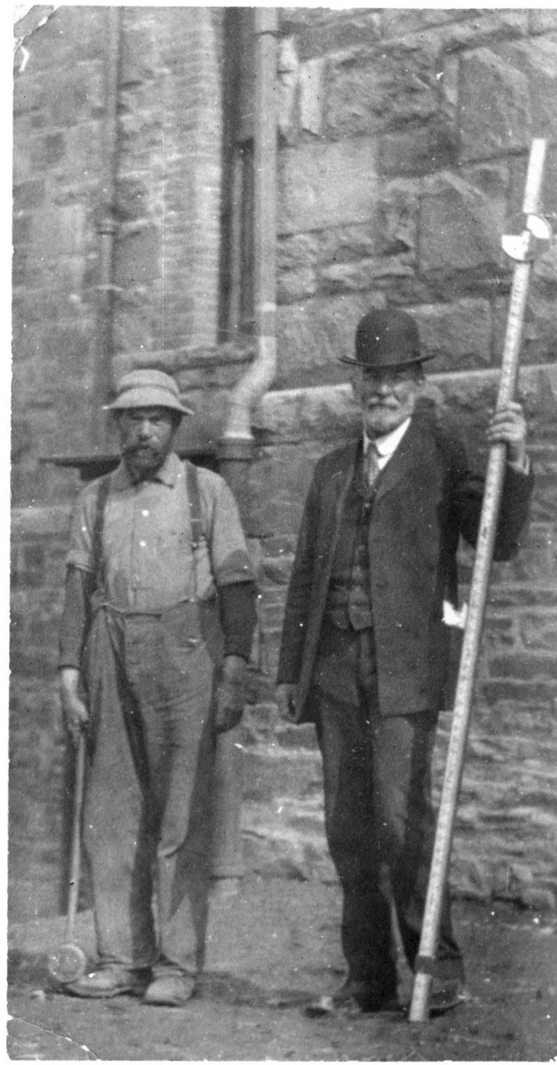 2 men [surveyors]