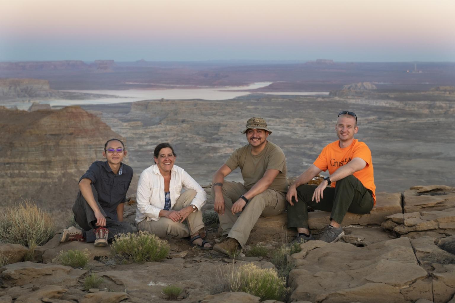 Zoology field trip with Paula Cushing