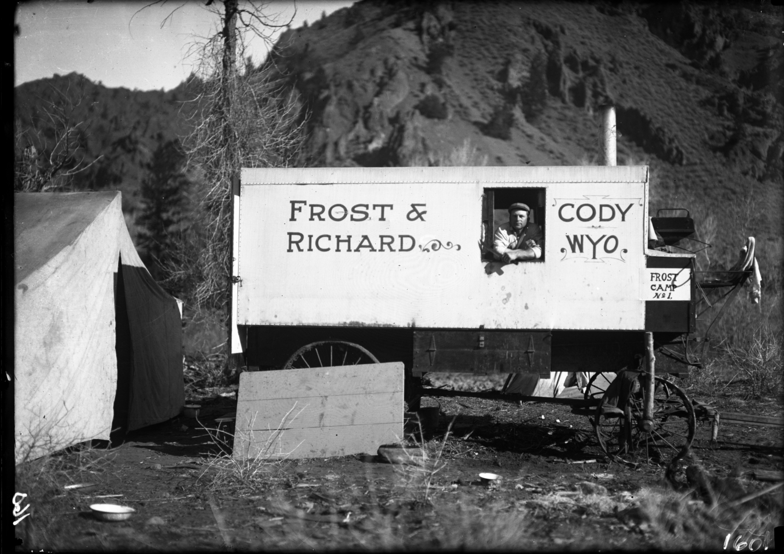 Cook Tent in Shoshone Camp