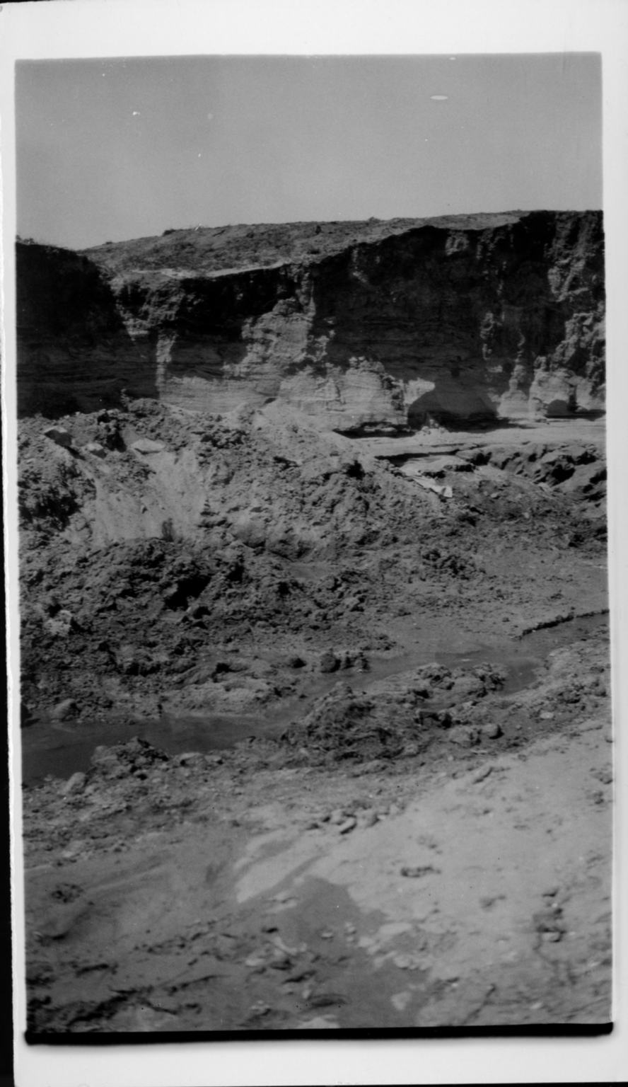 Mammoth Skull Site Rock Formation