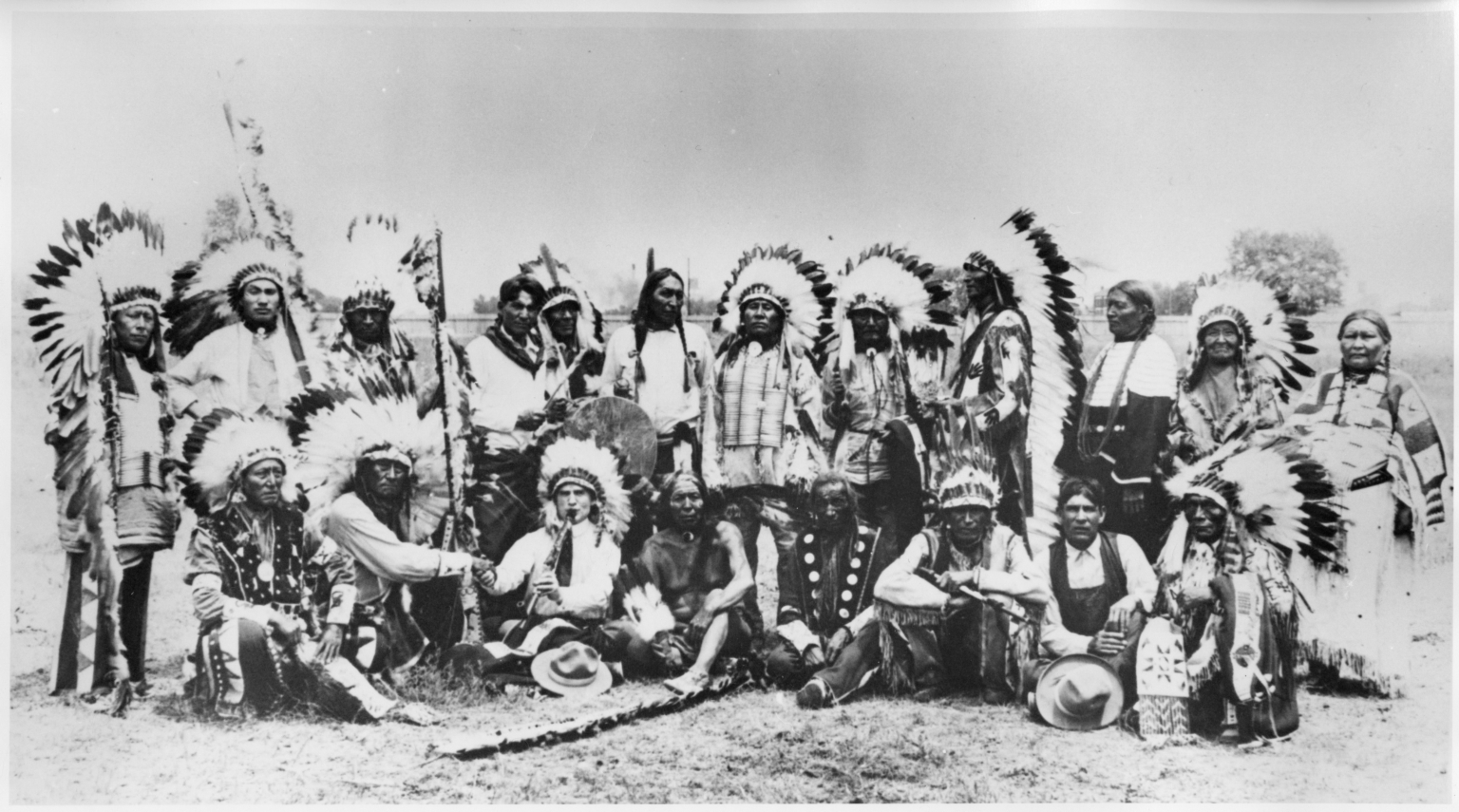 Sioux Indians at Denver Pageant