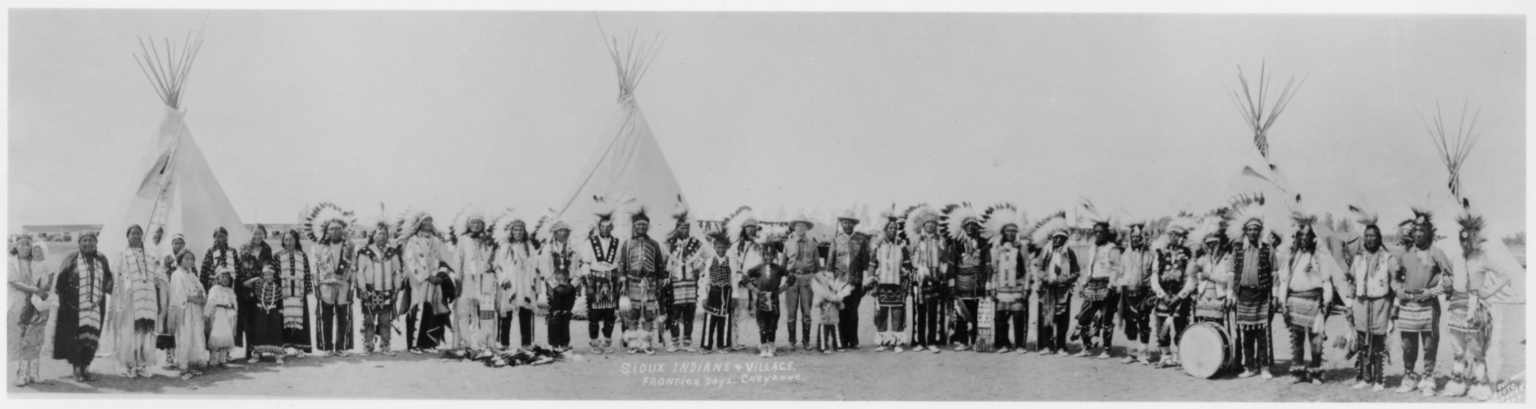 Sioux Participants at Cheyenne Frontier Days
