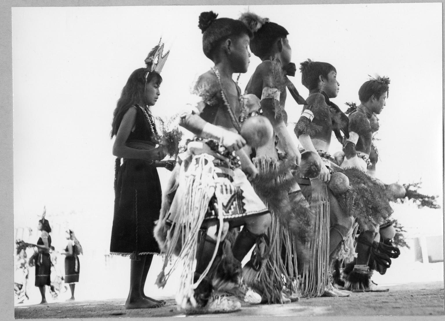 San Ildefonso Pueblo, Corn Dance, Children dancers