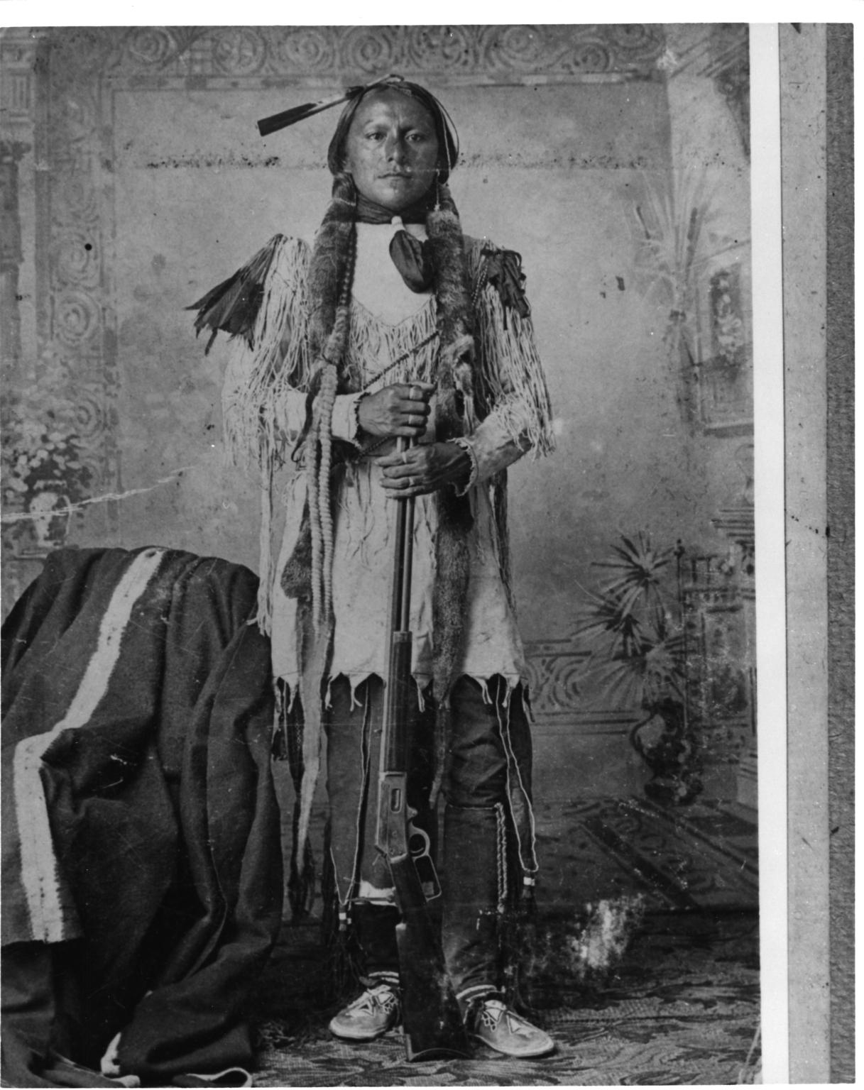 Comanche man