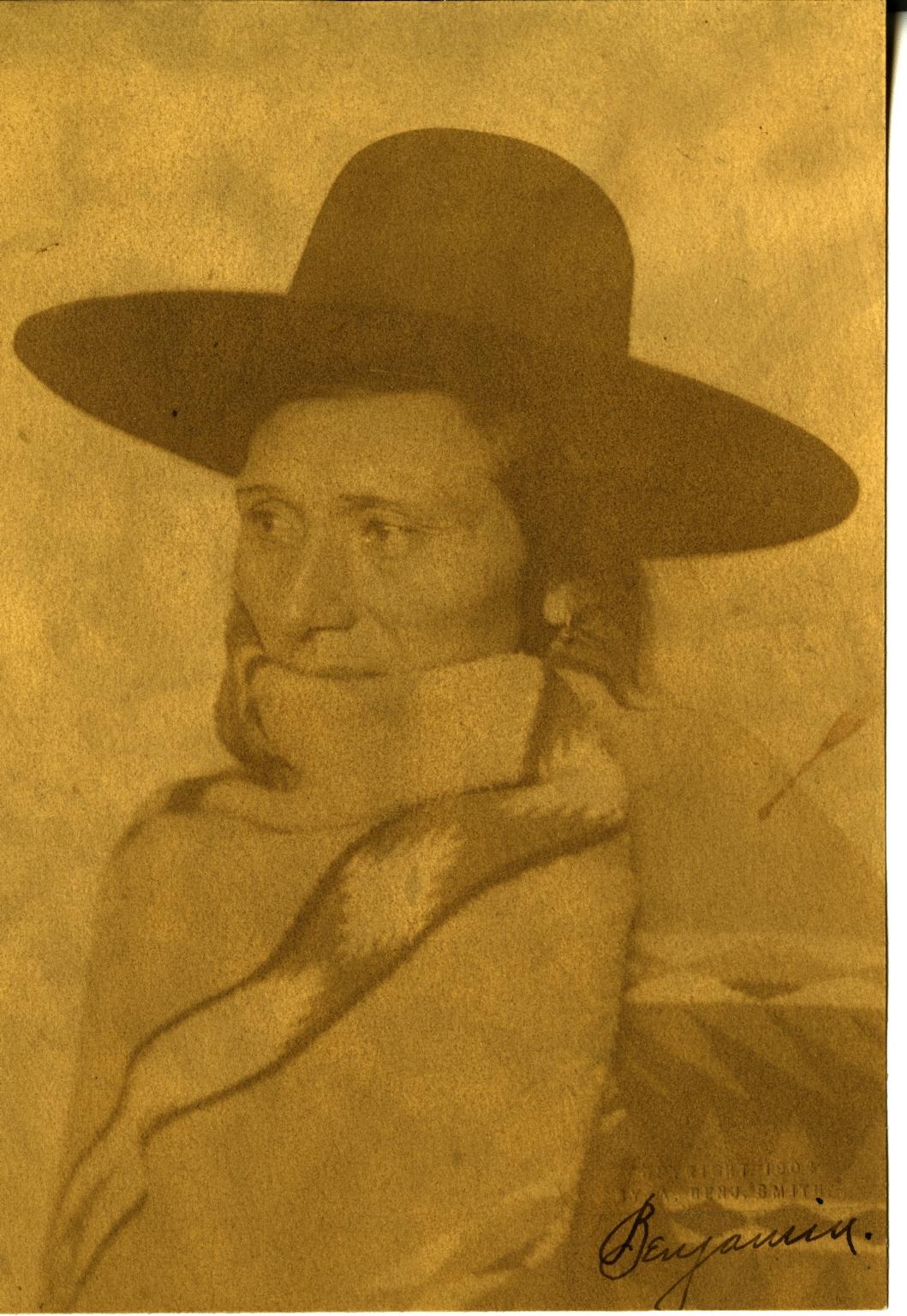 Indian man wearing hat