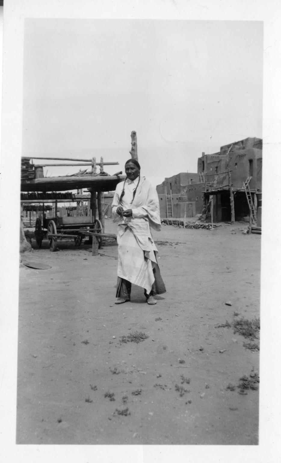 Taos Pueblo Man