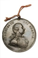 Silver peace medal