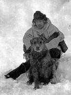 Alfred M. Bailey & dog
