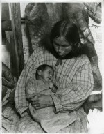 "Native woman with little ""Muriel"""