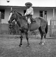 Native on horse